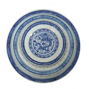 Chinese Blue Dragon Tableware
