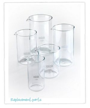 Coffee Press Spare Glass Liners & Meshes