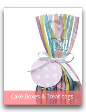 Cake Boxes & Treat Bags