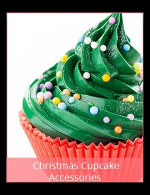 Christmas Cupcake Accessories