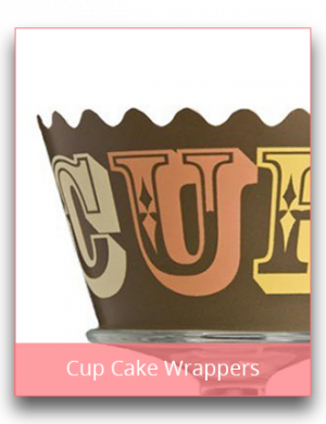 Cup Cake Wrappers