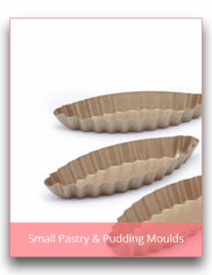 Small Pastry & Pudding Moulds