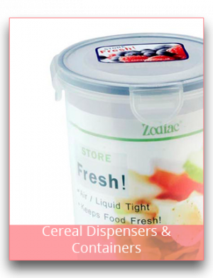 Cereal Dispensers & Containers