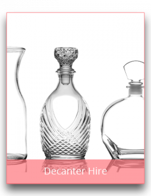 Decanter Hire