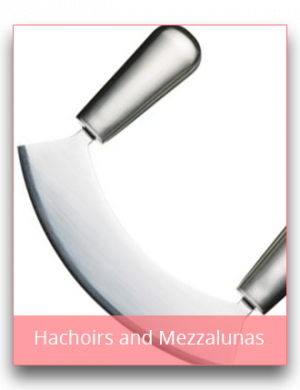 Hachoirs and Mezzalunas