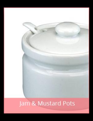 Jam & Mustard Pots
