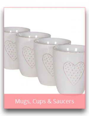 Mugs, Cups & Saucers