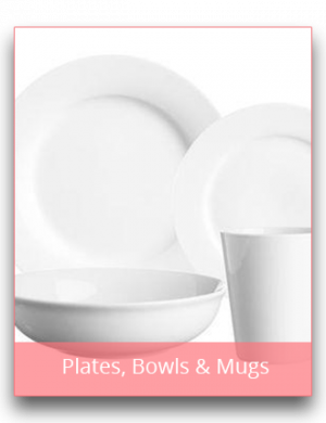 Plates, Bowls & Mugs