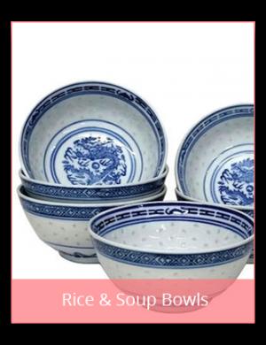 Rice & Soup Bowls