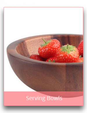 Serving Bowls and Dishes