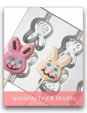 Specially Shaped Tins & Moulds