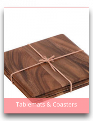Tablemats, Chargers & Coasters