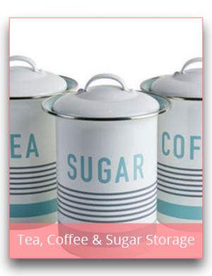 Tea, Coffee & Sugar Storage