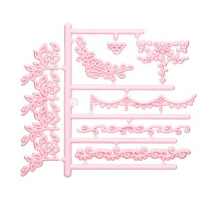 Sweetly Does Garland Icing Embosser