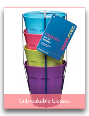 Unbreakable Glasses