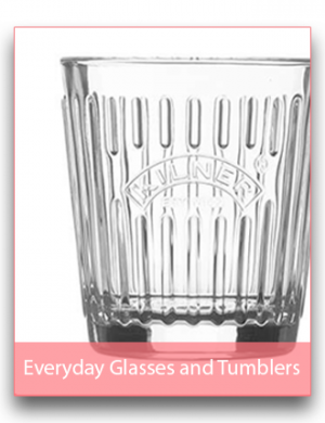 Everyday Glasses and Tumblers