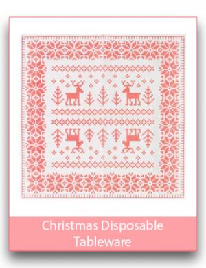Christmas Disposable Tableware