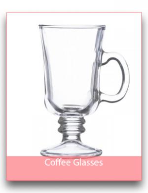 Coffee/Hot Chocolate Glasses