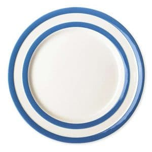 Cornish blue Breakfast plates 22cm