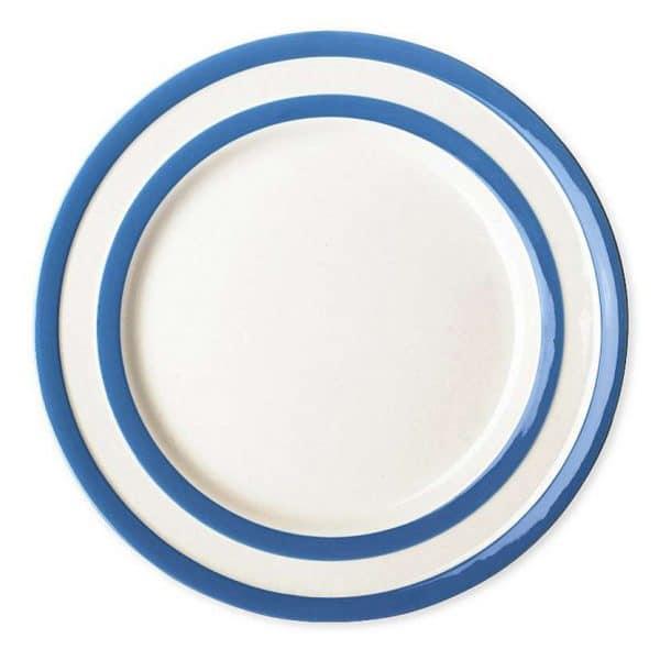 Cornish blue Breakfast plates 22cm