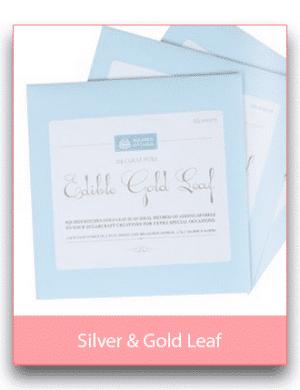 Silver & Gold Leaf