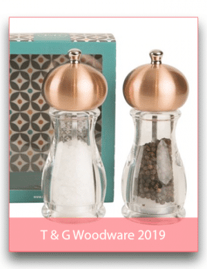 T & G Woodware 2019
