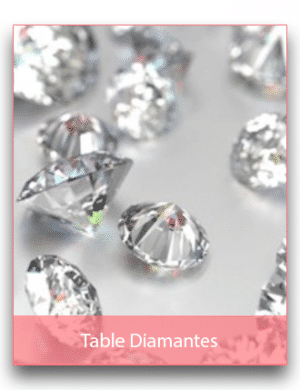 Large Bags of Table Diamantes