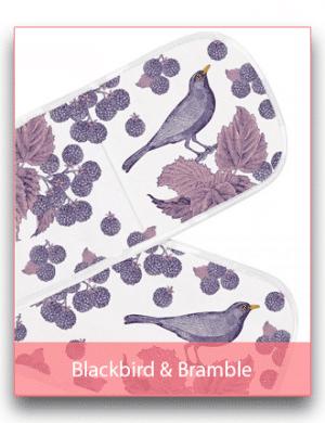 Thornback & Peel: Blackbird & Bramble Linen Range
