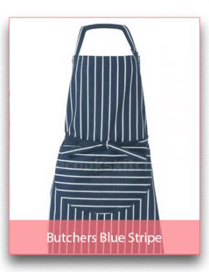 Butchers Blue Stripe Linen Range