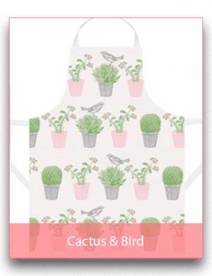 Thornback & Peel: Cactus & Bird Linen Range