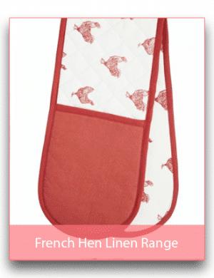 French Hen Linen Range