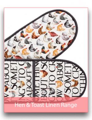 Emma Bridgewater Hen & Toast Linen Range