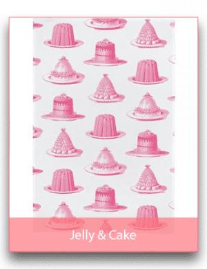 Thornback & Peel: Jelly & Cake Linen Range