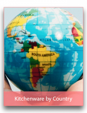 Kitchenware by Country