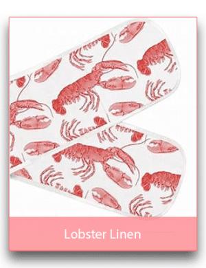 Thornback & Peel: Lobster Linen Range