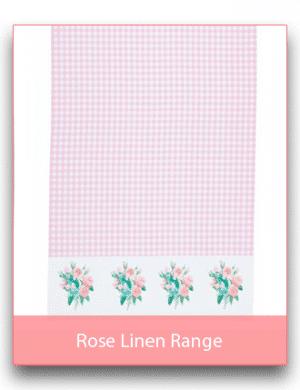 Rose Linen Range