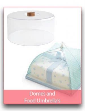 Domes and Food Umbrella's