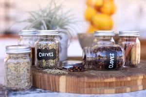 Herb and Spice Storage