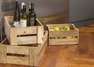 Kitchen Cupboard and Shelf Storage