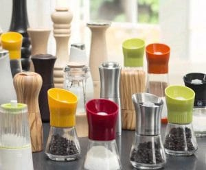 Salt and Pepper Mills and Shakers
