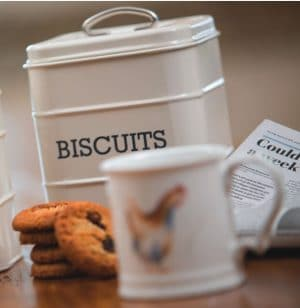 Biscuit Tins & Jars