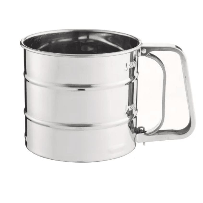 Flour Sifter Trigger Action Stainless Steel Mason Cash The Big Kitchen Cookware Bakeware Kitchenware Shop Bristol